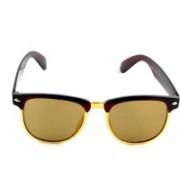 PARK DANIEL Wayfarer Sunglasses(Brown)
