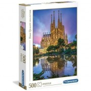 Puzzle Clementoni High Quality Collection: Barcelona, 500 piese