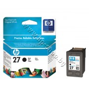 Касета HP 27, Black, p/n C8727AE - Оригинален HP консуматив - касета с глава и мастило