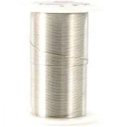 28 Gauge Wire 35 Yards/Pkg-Silver
