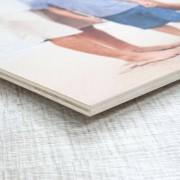 smartphoto Foto auf Holz 60 x 60 cm