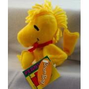 "Rare! Snoopy Best Friend Woodstock 5"" Plush Bean Bag"
