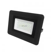 OPTONICA SMD2 LED REFLEKTOR / 70W / Fekete / hideg fehér / FL5833