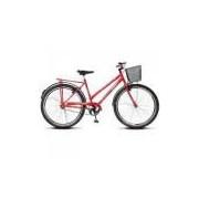 Bicicleta Colli Barra Fort Vermelho Aro 26 36 Raias Freios V-brake