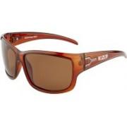 ROZIOR Sports Sunglasses(Brown)