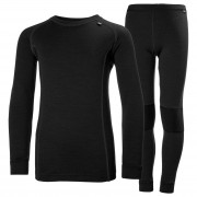 Helly Hansen Jr Hh Lifa Merino Set 128/8 Black