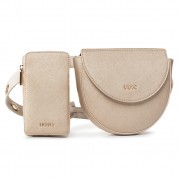 Чанта за кръст LIU JO - Belt Bag NA0177 E0502 Alabaster/Go B3730