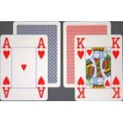 Carti de joc Copag 4 colturi Index 100% Plastic