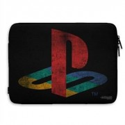 Playstation Distressed Logo Laptop Sleeve, Laptop Sleeve