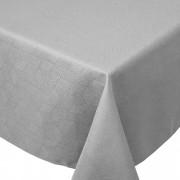 Linnea Nappe carrée 175x175 cm Jacquard 100% coton CUBE gris Perle