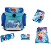Frost skolväske set 5 delar - Frost skolväska Anna och Elsa 775650