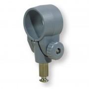Scalmo in nylon grigio regolabile a collare - Diametro interno Ø (mm.) 35.