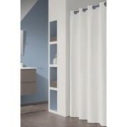 Sealskin Coloris biała zasłona prysznicowa tekstylna 180x200cm 232211310