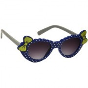 Redex Black And Blue Color Stylish Cat-Eye kids Sunglasses