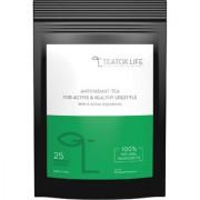 Teatox Life Antioxidant Tea Tulsi Green Tea Blend Caffeine Free Natural high Anti-Oxidants 50 grams