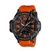 Casio G-Shock Orange an Black Dial Resin Strap Watch