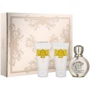 Versace Eros Pour Femme coffret VII. Eau de Parfum 50 ml + gel de duche 50 ml + leite corporal 50 ml