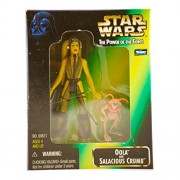Star Wars - 1998 - Kenner - Power of the Force - Oola & Salacious Crumb Action Figures - Rare - From Jabba the Hutt's Palace - New - Limited Edition - Collectible