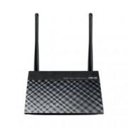 Рутер Asus RT-N12+, 300Mbps, 2.4GHz(300 Mbps), Wireless N, 4x LAN 100, 1x WAN 100, 2x външни антени