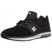 DC Men's Heathrow Ia Skateboarding Shoe, Black, 7 D US