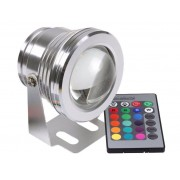 Refletor LED 10W RGB - 12V