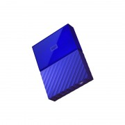 Hard disk extern WD My Passport 7mm 2TB 2.5 inch USB 3.1 Blue