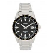 メンズ CASIO MTP-1290D-1A2 COLLECTION 腕時計 ブラック