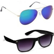 Just Style Aviator Sunglasses(Multicolor)