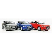 Jack Royal AUDI A1 - 3 Metal Car(Pull Back Action)Combo
