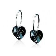 Blomdahl Gioiello Nt Ring 14 Mm Heart 10mm Black Diamond