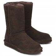Bearpaw Elle Short - Kozaki Damskie - 1962W/CHOCOLATE II