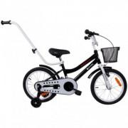 Bicicleta copii 4-7Ani Sun Baby BMX Junior 16 inch Negru