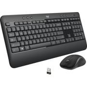 Logitech - MK540 Advanced Wireless Keyboard and Mouse Bundle - Black