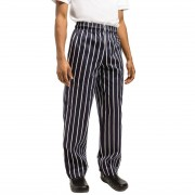 Chef Works Essential Baggy Pant Butchers Stripe L Size: L