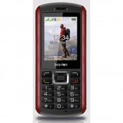 beafon AL560 Vanjski mobilni telefon Crna/crvena