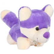 Ultra Fox Shaped Purple Colored Soft Toy for Kids 11 inches
