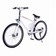 Bicicleta electrica Airwheel R8 White , Viteza max. 20km/h, Putere motor 200W, Baterie LG 162.8Wh/36V