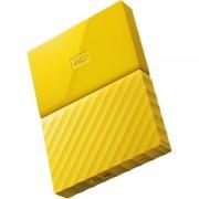 Hard disk extern WD My Passport New 1TB 2.5 inch USB 3.0 Yellow