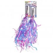 Kinderfiets handvat versiering slierten paars