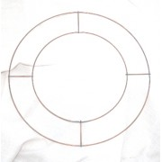 """3 x 8"""" WIRE RINGS FOR WREATHS CHRISTMAS, XMAS, MEMORIAL"""