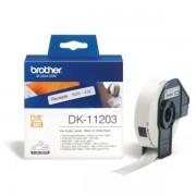 Brother Originale P-Touch QL 500 Etichette (DK-11203) 17mm x 87mm, Contenuto: 300 - sostituito Labels DK11203 per P-Touch QL500