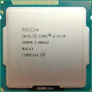 Intel Core i5-3570 3.40 GHz - second hand