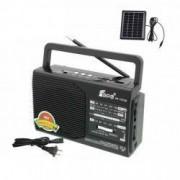 Set - Radio AM/FM/SW1-8 cu Incarcare Solara Fepe FP-1372U-LS Negru + Suport Universal de Birou Pentru Tablete sau Telefoane