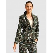 AMY VERMONT Blazer, Damen, oliv, mit modischem Camouflage-Druck