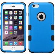 Funda Doble Protector Case Uso Rudo para iPhone 6 Plus-Azul