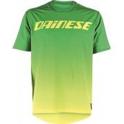 Dainese Driftec Camiseta de la bicicleta Verde Amarillo L