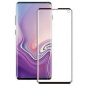 Folie Protectie Sticla 3D Edge Eiger pentru Samsung Galaxy S10e (Negru/Transparent)