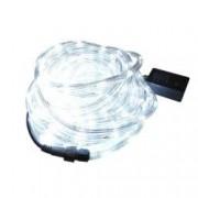 Instalatie Tip Furtun Luminos LED pentru Craciun Lumina Alba Exterior Interior Lungime 10m 200 LED-uri