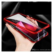 Funda Magnética Huawei Nova 3 Bumper Aluminio con Mica Glass