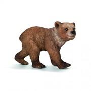 Schleich Grizzly Bear Cub Toy Figure